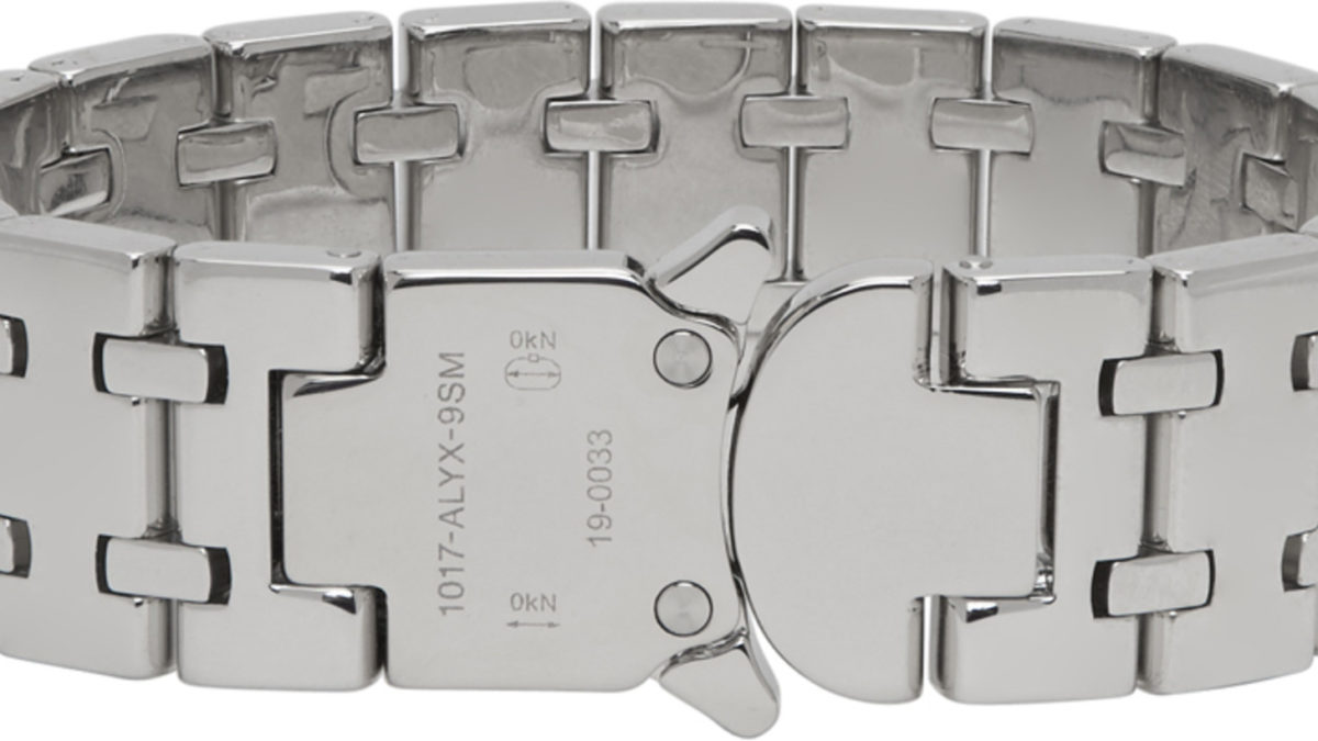 1017 ALYX 9SM releasing Audemar Piguet's Royal Oak inspired silver bracelet.
