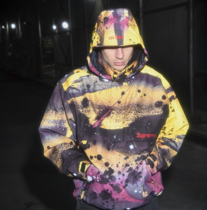 Supreme ×Rammellzee releasing this week.
