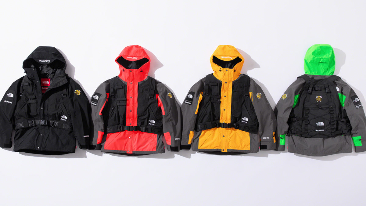Supreme×The North face releasing on March 12th.