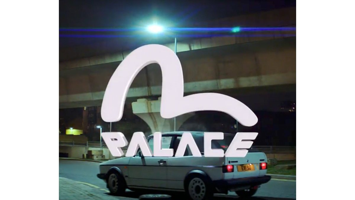 Palace×EVISU coming soon.