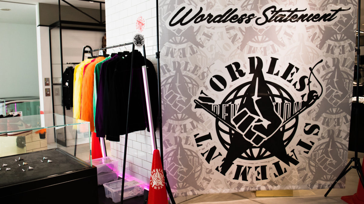 Wordless Statement Pop Up opening in Osaka from February 14th to March 23rd.