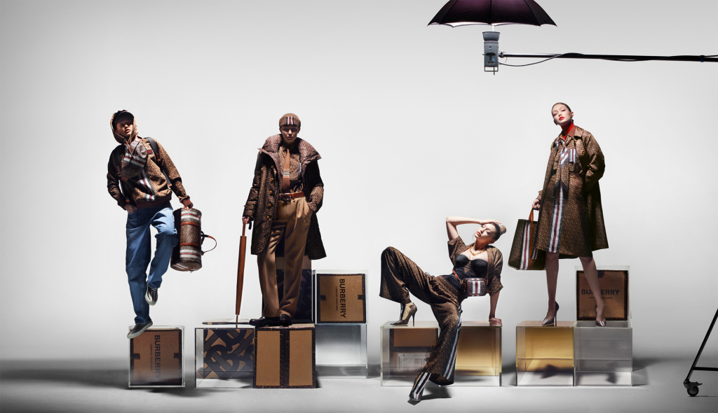 Burberry Monogram Collection available now.