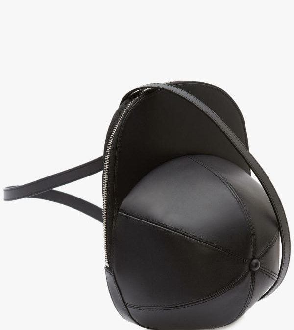 JW Anderson Leather Cap Bag available now.