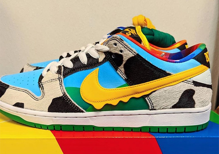 BEN & JERRY'S NIKE SB DUNK LOW CHUNKY DUNKY releasing this summer.